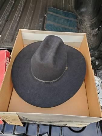 Photo Stetson Hats Black Sombrero - $120 (Beaver Dam)
