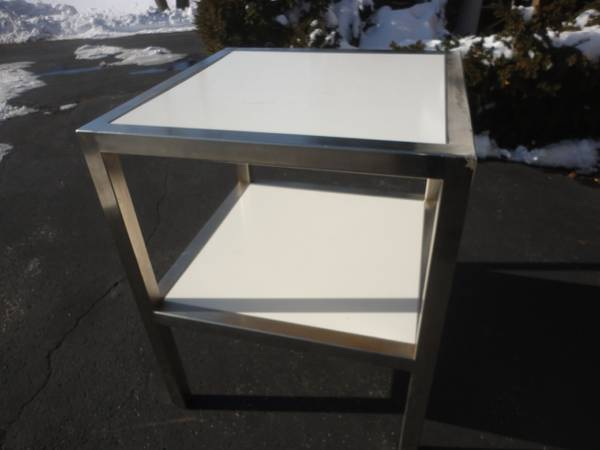 Photo Table, 32quot x 32quot with Stainless Steel frame - $250 (Brookfield, Wi.)