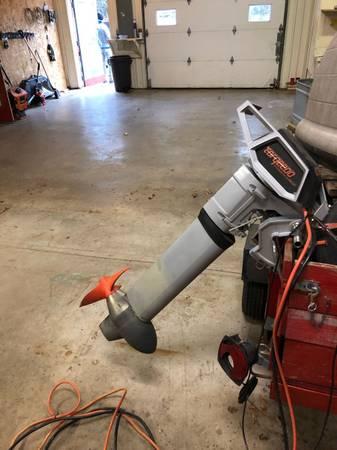 Photo Torqeedo long shaft electric outboard - $5100 (Madison)
