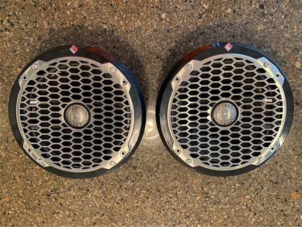 Photo Two (2) Rockford Fosgate Marine Speakers PM282B - $225 (COTTAGE GROVE)