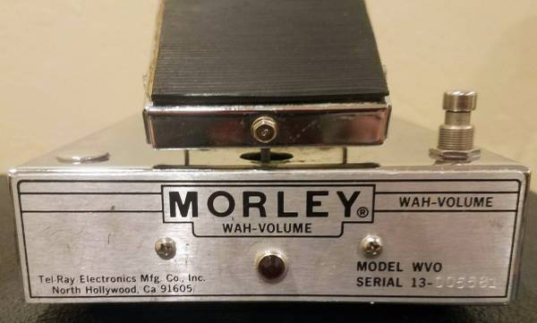 Photo Vintage Morley Wah-Volume Pedal - $150 (Fitchburg)