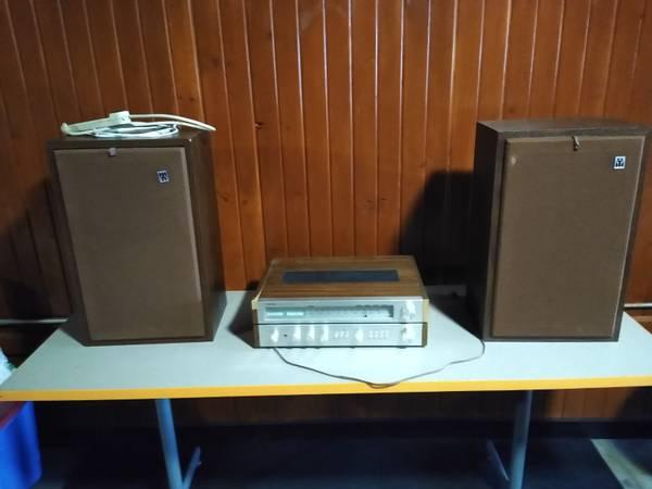 Photo - Toshiba Stereo System- Old School Sound - $95 (Portage)