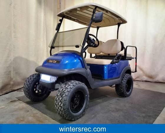Photo 2018 Club Car Precedent Electric STREET READY Golf Cart, Blue - $5895 (Sauk Centre)
