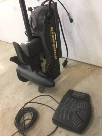 Minn Kota Power Drive V2 65 lb thrust with Auto Pilot 24V - $450
