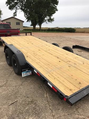 Photo New Tilt bed car trailer - $5,500 (Fairfax)