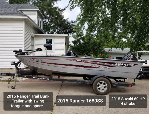 Photo Ranger 1680SS 2015 click on pictures - $17,500 (Waseca)