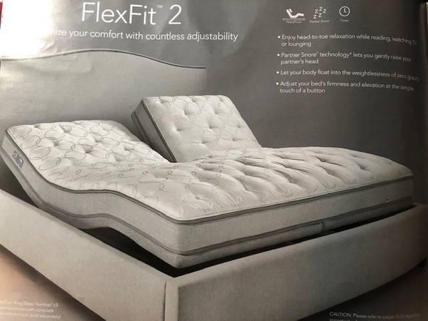 Photo Sleep Number King Size Bed - $3,950 (Eagle Lake)