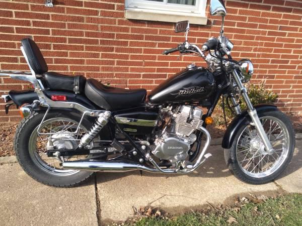Photo 08 Honda rebel 250 - $1,650 (Cuyahoga falls)