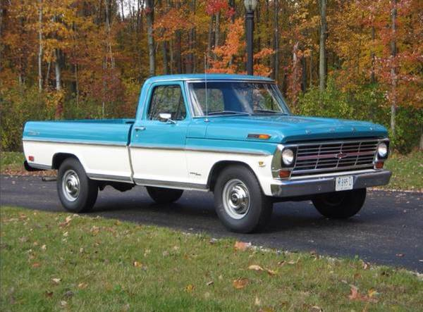 Photo 1969 Ford F250 Cer Special - $13,500 (New London)