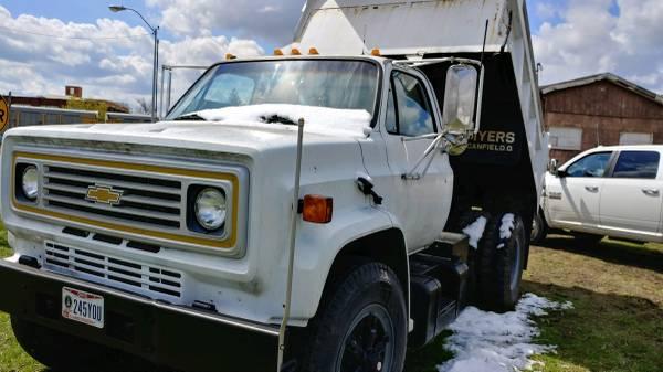 Photo 1986 Chevy Dump truck - $8,500 (Galion)