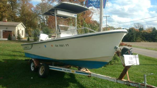 Photo 1987 proline center console fishing boat - $5,000 (vermilion)