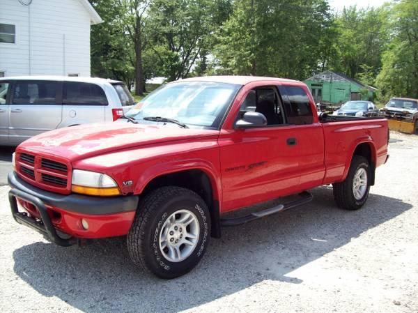 Photo 2001 Dodge Dakota 4x4 Sport Pickup - $4,895 (Medina)