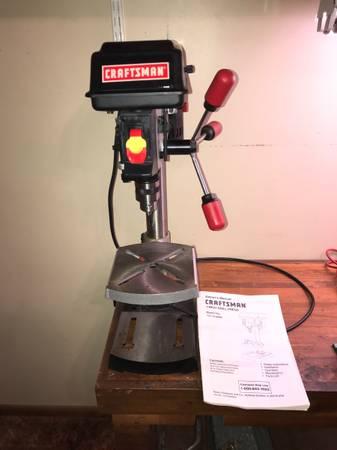 Photo Craftsman Drill Press - $100 (Shelby)