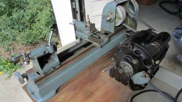 Photo Craftsman Metal Lathe 109 - $450 (Lucas)