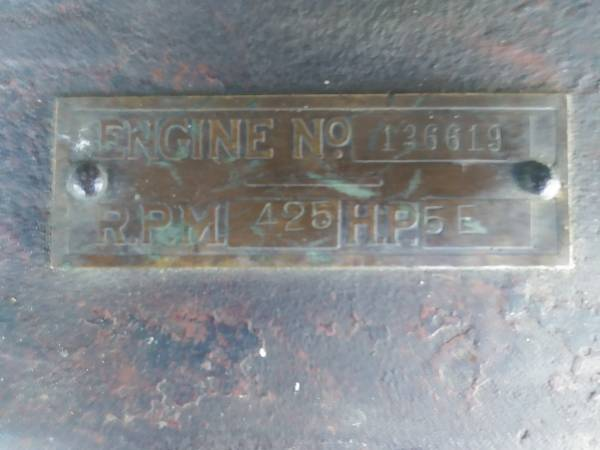 Photo Economy 5hp hit and miss engine - $1,700 (Plymouth)