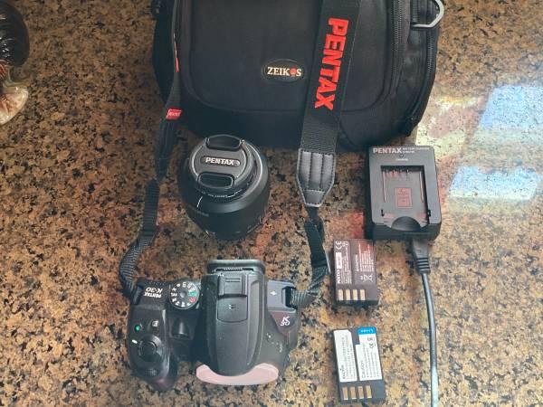 Photo Pentax K30 DSLR bundle - $125 (South Columbus)