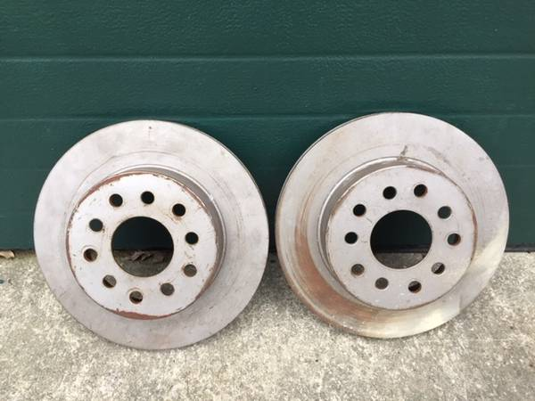 Photo Rear Brake Rotors Lincoln Continental, Lincoln Mark VII, Ford Mustang - $20 (Bucyrus)