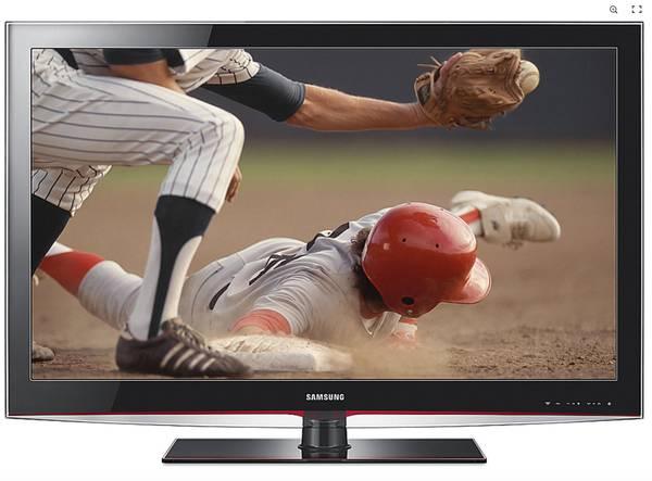 Photo Samsung LN40B550 1080p LCD HDTV - $150 (Mansfield,OH)