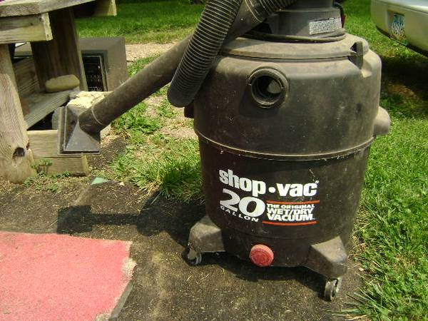 Photo Shop Vac 20 gallon - $20 (Mt. Gilead)