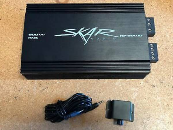 Photo Skar Audio RP 1200.1 Monoblock Amp - $130 (Lucas)