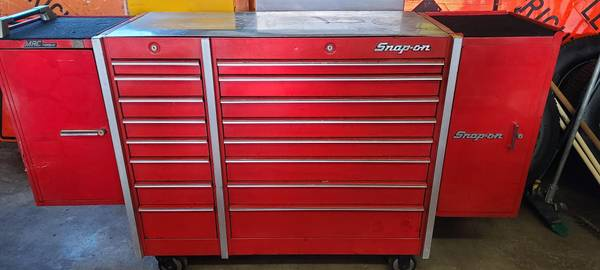 Photo Snap on Mac Tool Box with tools - $6,000
