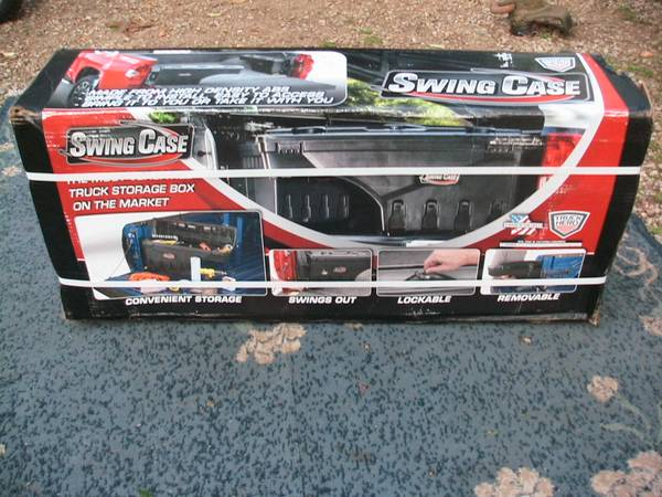 Photo SwingCase Under Cover Truck Bed Storage Box, 2019-21 Ford Ranger, NEW (Mansfield)