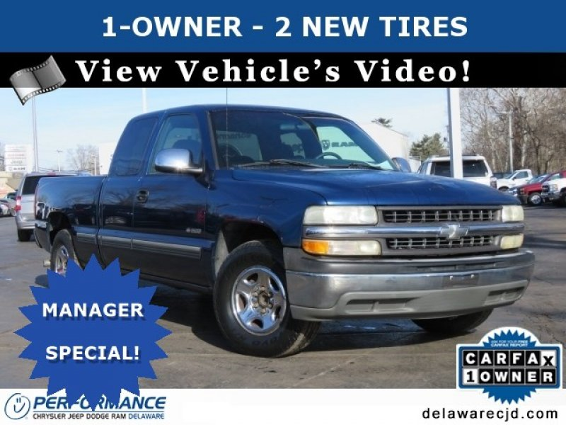 Photo Used 2001 Chevrolet Silverado 1500 2WD Extended Cab for sale