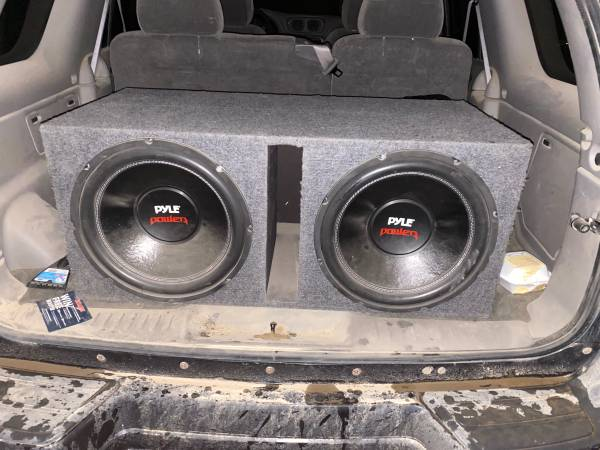 Photo 15inch subwoofers comes with  not the wires though - $250 (Redwood falls mn)