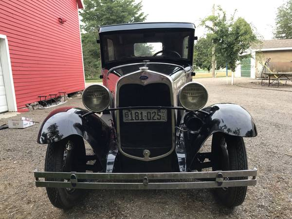 Photo 1930 Ford Model A - $11,500 (Montevideo, MN)