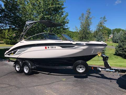 Photo 2018 Yamaha AR210 jet boat clean, low hours and cover $349mo - $42,999 (Red Wing)