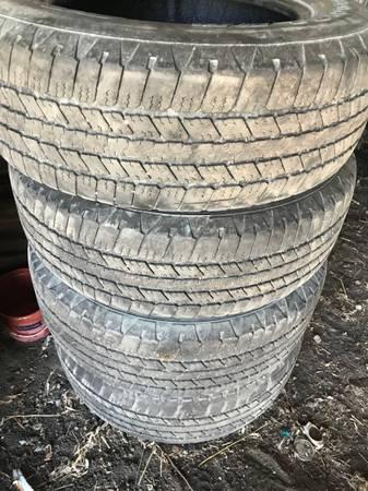 Photo 4 goodyear wrangler tires 265 65r 18 - $50 (willmarmontevideo area)