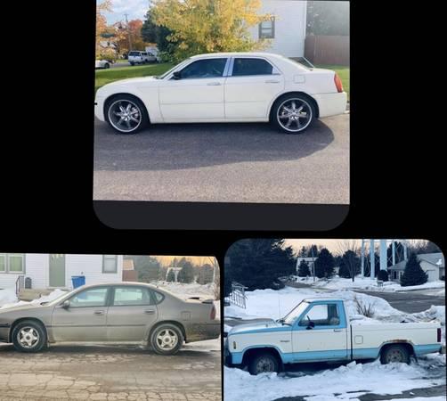 Photo Chrysler, Impala, Ford Ranger - $1000 (Clarkfield)