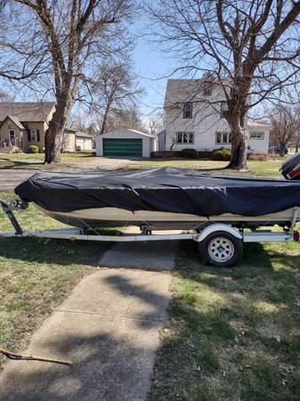 Photo Fishing Boat and Trailer - $3,000 (Madison)