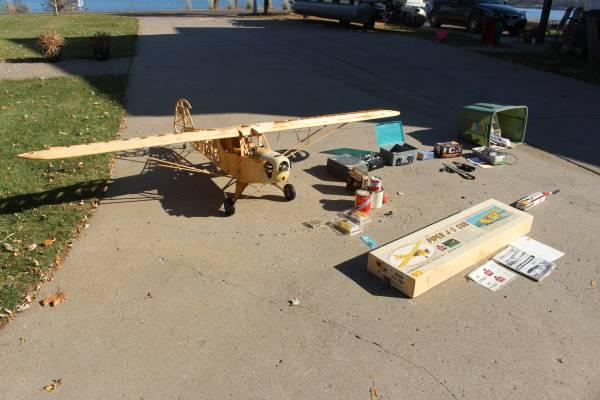 Photo J-3 Piper Cub 14 Scale Model - $695 (White Bear Lake)