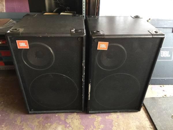 Photo JBL Cabaret 4628B Professional speakers - $699 (MaplewoodSt.Paul)
