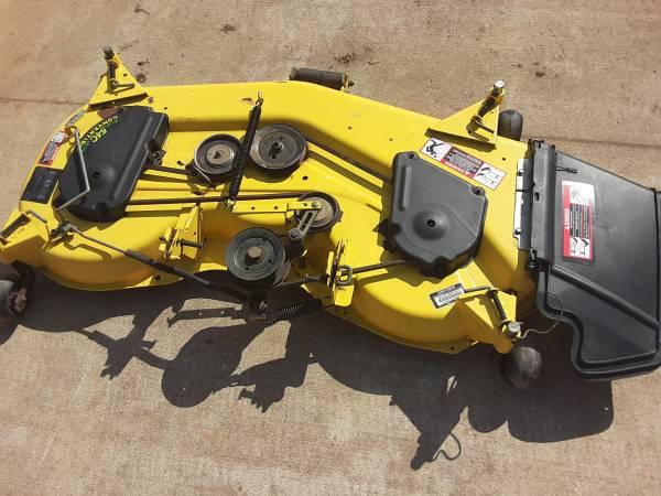 Photo John Deere 54 inch convertible mower deck. - $650 (Lake Wilson)