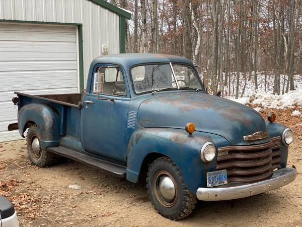 Photo Looking for 50s truck or muscle car - $3,000 (Pine river)