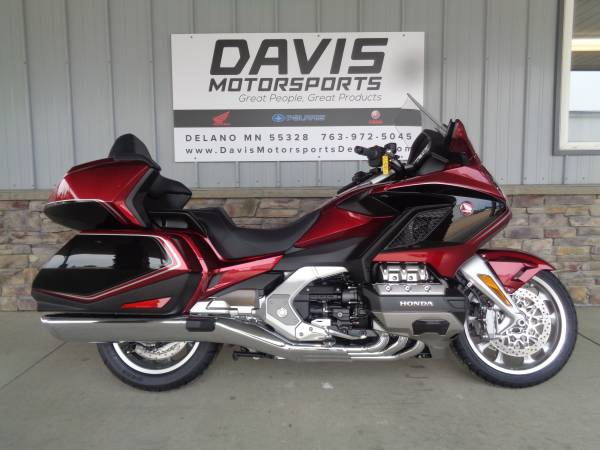 Photo NEW 2020 HONDA GOLD WING TOUR IN CANDY REDBLACK, CALL FOR PRICE, NICE - $28,000 (DAVIS MOTORSPORTS OF DELANO)