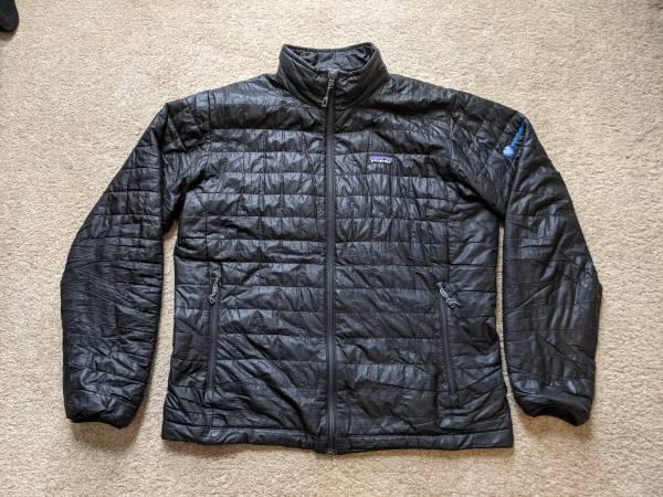 Photo Patagonian Jacket - Nano Puff Black - Men39s Large - $70 (saint paul)