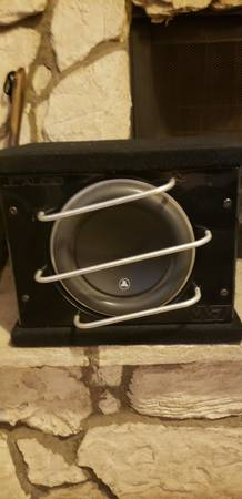 Photo RARE JL AUDIO 10W7 PRO WEDGE - $550 (OR TRADE FOR JL AUDIO 8W7)