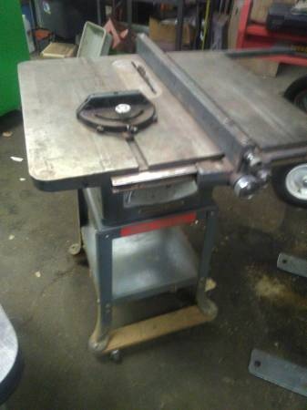 Photo Rockwell Delta table saw - $50 (Holdingford Mn)