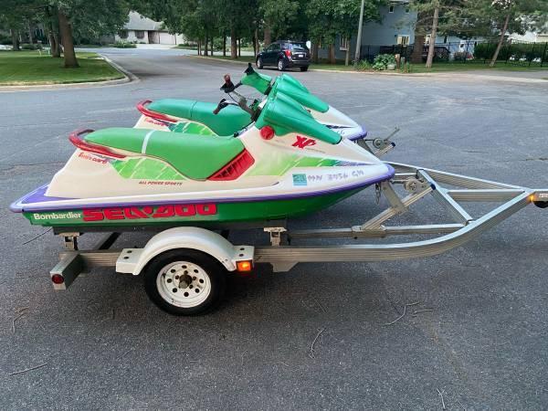 Photo Sea-Doo XP Jet Skis - $2,500 (Hammond, WI)