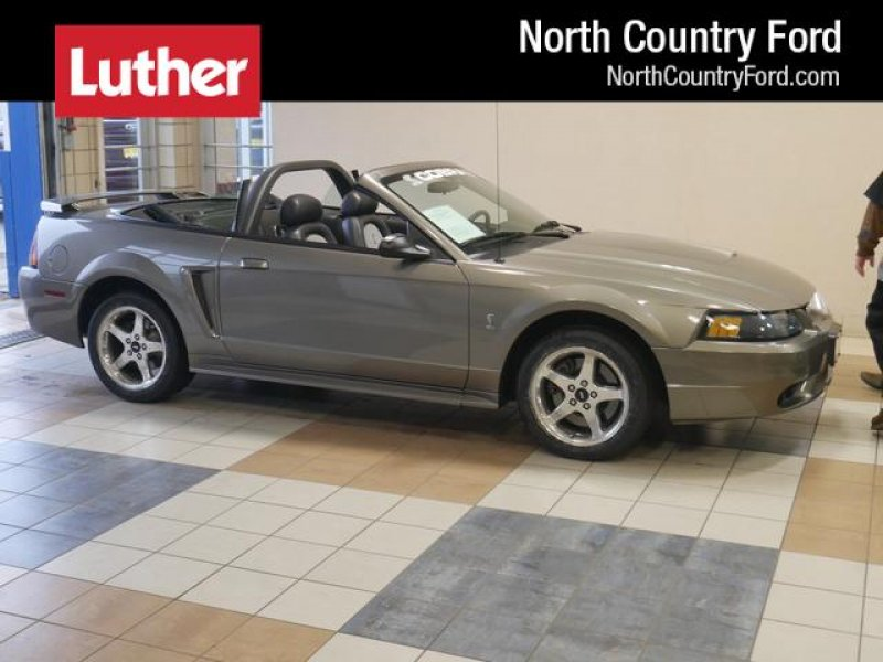 Photo Used 2001 Ford Mustang Cobra Convertible for sale