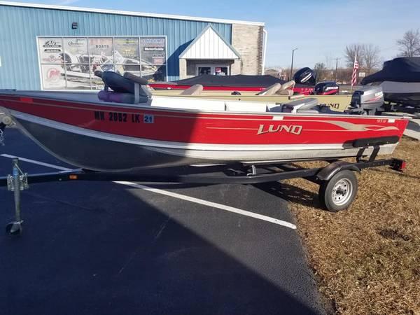 Photo Used Fishing Boat Lund SSV 16 - $4,500 (Alexandria)