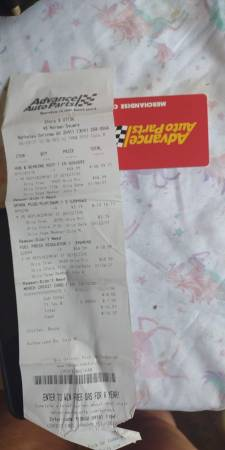 Photo 127 gift card for advanced auto - $100 (BERKELEY SPRINGS)