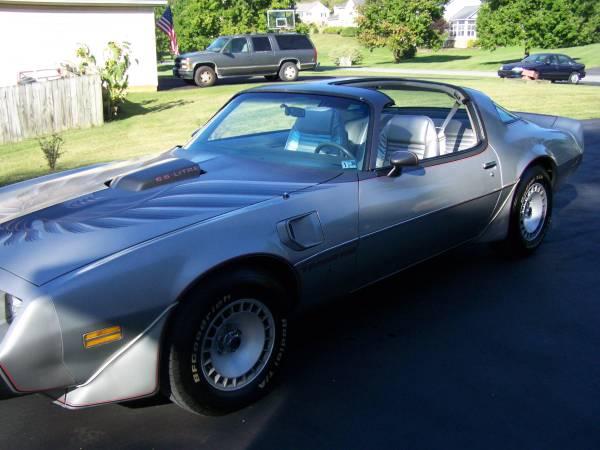 Photo 1979 10th Anniversary Trans AM 31K Miles - $29,995 (Charles Town)
