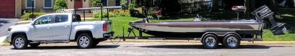 Photo 1988 Ranger Bass Boat 390V Comanche w Johnson GT 150 - $8,700 (Woodbridge)