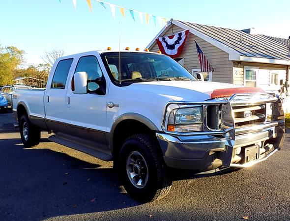 Photo 2004 FORD F250 Super Duty KING RANCH 8ft 4X4 1-OWNER  6MONTH WARRANTY - $13,990 (ROYAL PIKE MOTORS)
