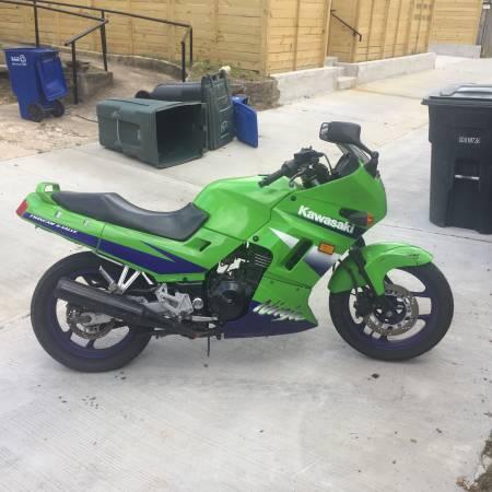 Photo 2007 Kawasaki Ninja 250cc - $600 (Hillcrest, DC)