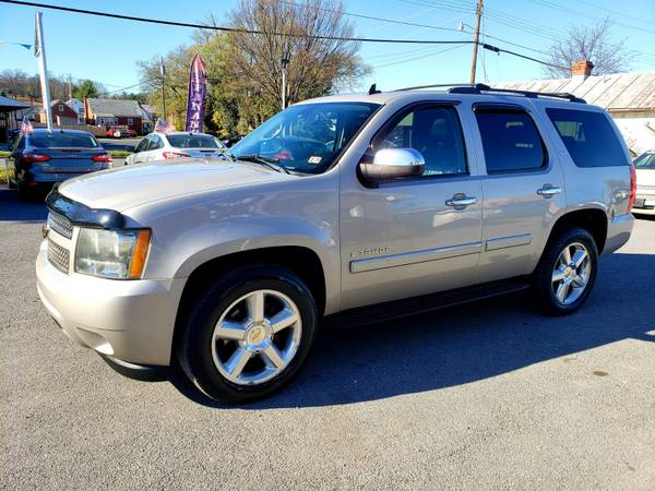 Photo 2008 Chevy Tahoe LTZ 7Seats Leather 4x4 MINT Condition6MONTH WARRANTY - $13,990 (Front Royal)